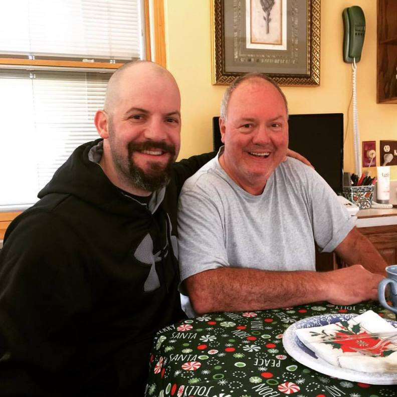 Dad and I
