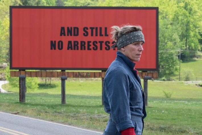 """""""Three Billboards Outside Ebbing, Missouri' is a bold stroke offilmmaking"""