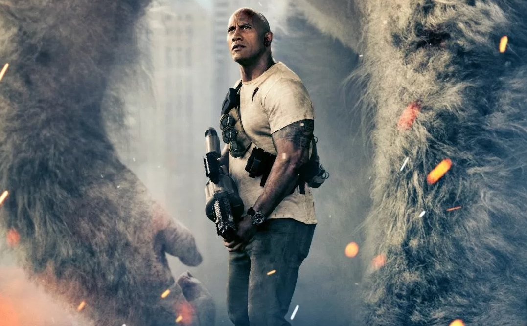 'Rampage' is a big bucket of buttered cinematic popcorn